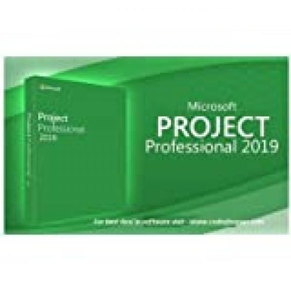 Microsoft Project Professional 2019 For 1 PC , Life Time Subscription, Code Will Send Via Email