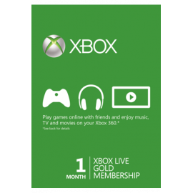 Xbox Live Gold Memberships | 1 Month (Global)