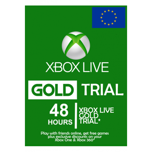 Xbox Live Gold Memberships | 48 Hours (2 Days) - Eu