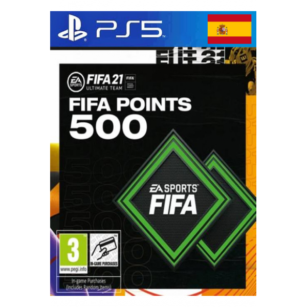 FIFA 21 - 1600 Fut Points (Spain) (PS4 / PS5)