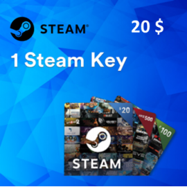 Steam /PC | 1 Random Steam Key Worth 20$