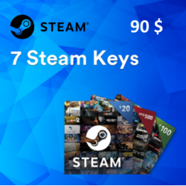Steam /PC | 7 Random Steam Keys Worth 90$