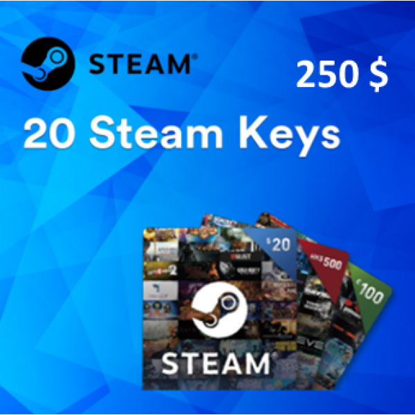 Steam /PC | 20 Random Steam Keys Worth More Than 250$