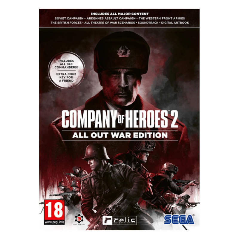 Company of Heroes 2 - All Out War Edition - (Steam /PC)