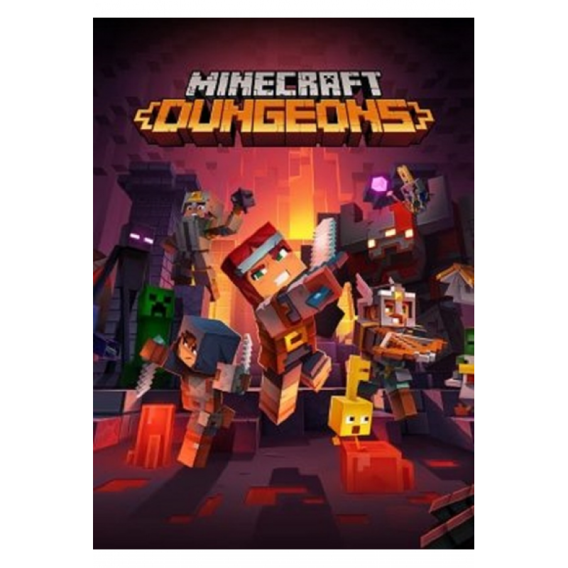 Minecraft Dungeons (Key of Official Web)