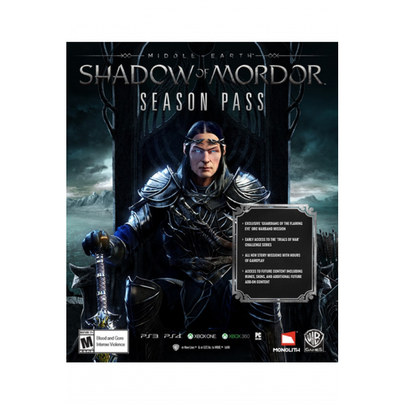 Middle-earth: Shadow of War - Expansion Pass (DLC) (Steam /PC)