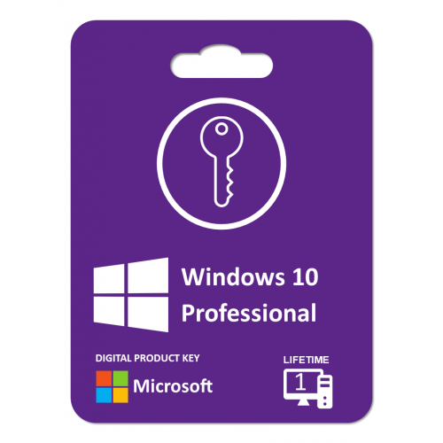 Windows 10 Pro.: Product Key For 1 PC , Life Time Product Key, Digitally Delivery Via Email