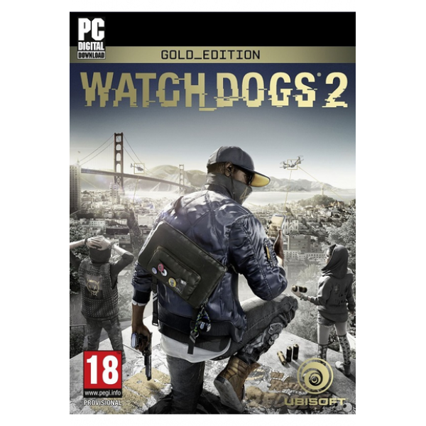 Watch Dogs 2 (Gold Edition) (Uplay /PC)