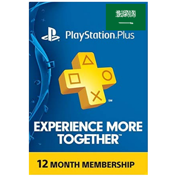 Psn - Playstation Plus - 365 Days (KSA) Subscription