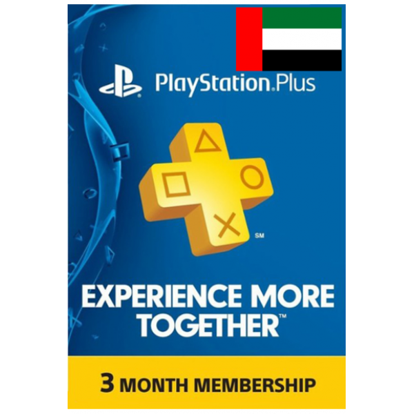 Psn - Playstation Plus - 90 Days (UAE) Subscription
