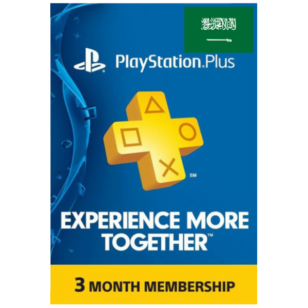 Psn - Playstation Plus - 90 Days (KSA) Subscription