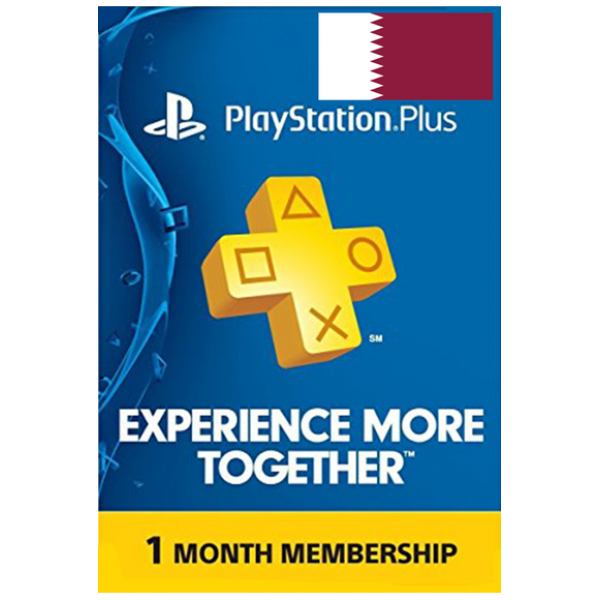 Psn - Playstation Plus - 30 Days (Qatar) Subscription