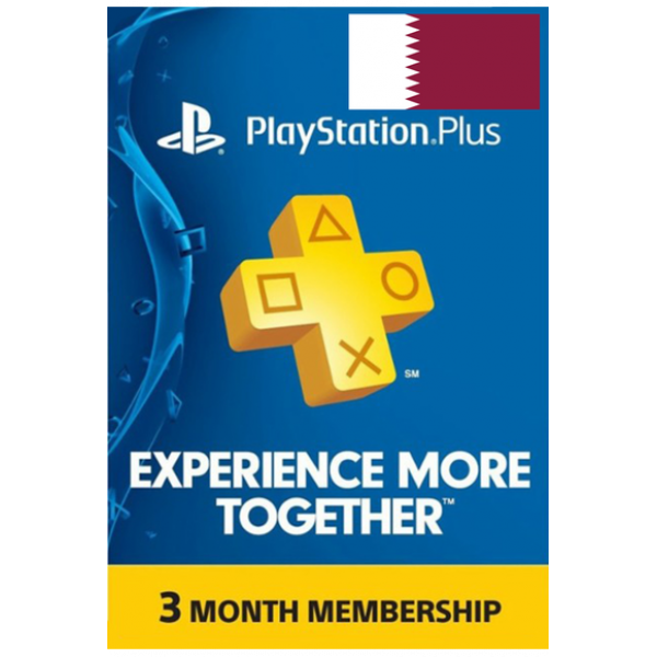 Psn - Playstation Plus - 90 Days (Qatar) Subscription