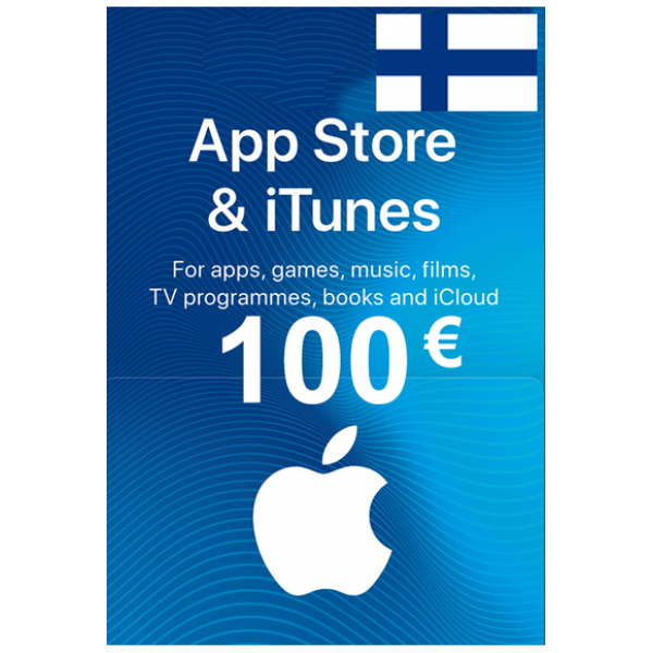 Apple Itunes Gift Card - 100€ (Eur) (Finland) App Store
