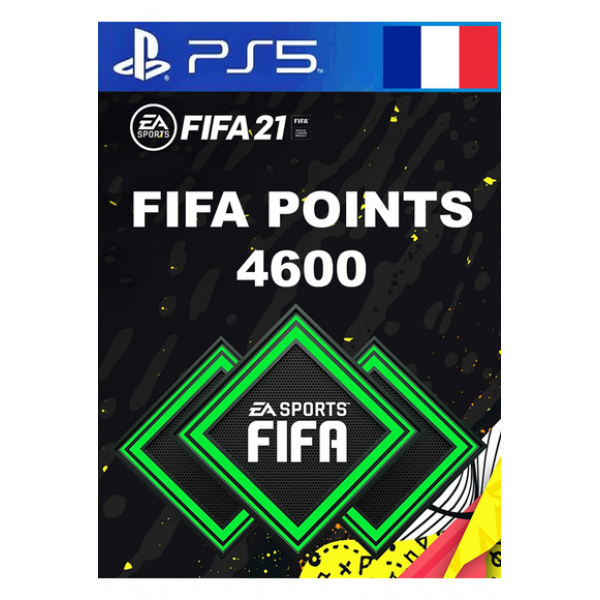 FIFA 21 - 4600 FUT POINTS (France) (PS4 / PS5)
