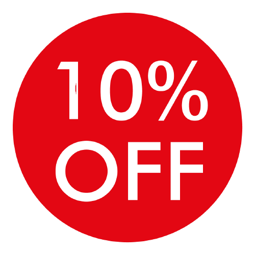 10% off as Reward Points